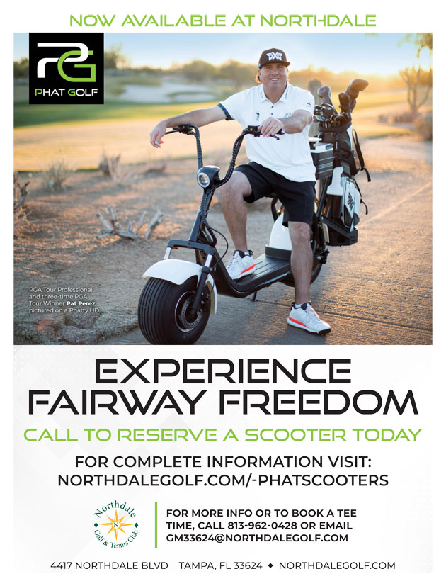 Graphic promoting Phat Scooter at Northdale